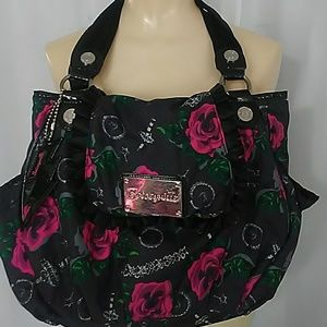 Betseyville floral fabric purse